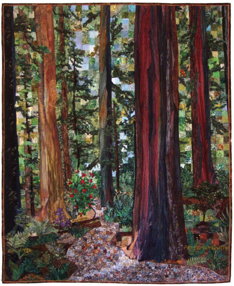 Forest Path Quilt